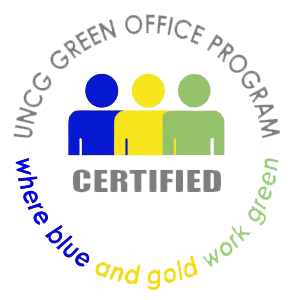 UNCG Green Office Certified